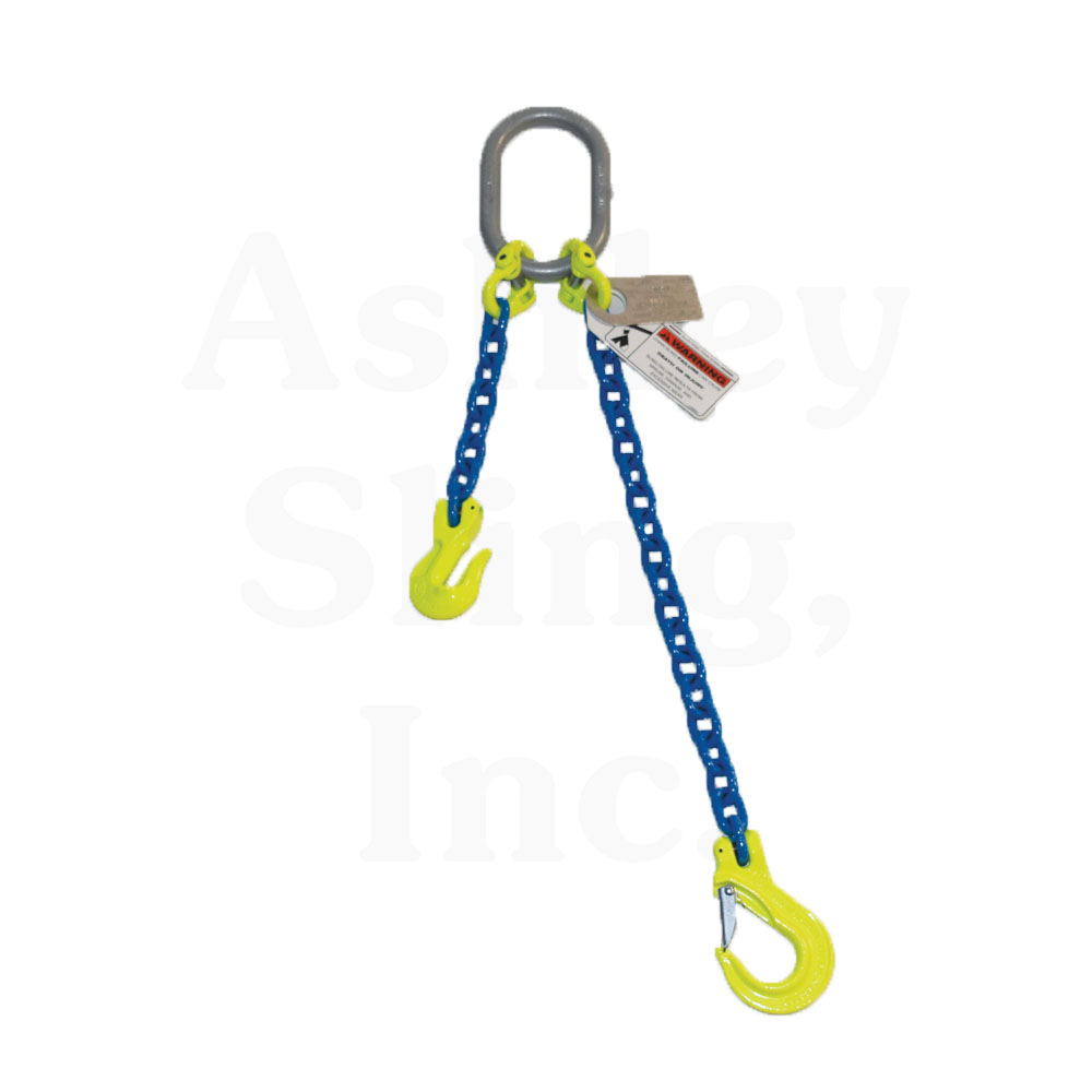 3//8 x 6 Triple Leg with Sling Hooks and Adjusters Grade 80 Chain Sling