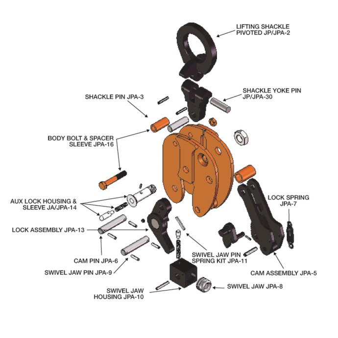 JPA Exploded View