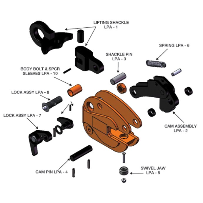 LPA Exploded View