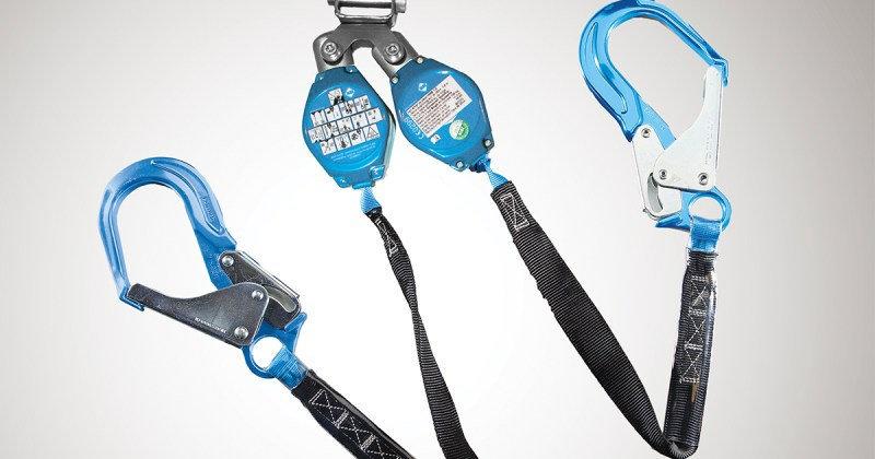 Y-lanyard for fall protection