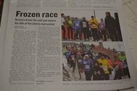 Frozen race