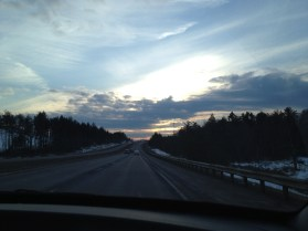 On the road to Pittsbugh