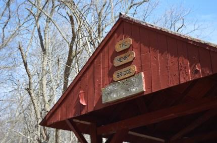 The Henry Bridge at Mingo Creek County Park