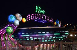 Alien Abduction ride at Wonderland Pier