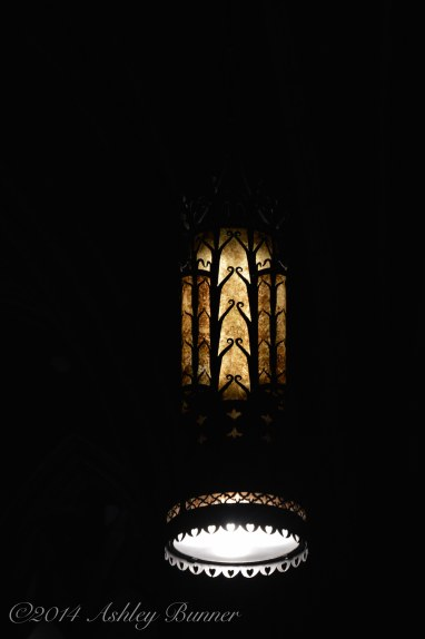 Light fixture in the Cathedral of Learning