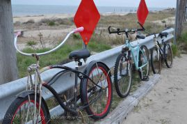 Bikes at Sunset Beach.