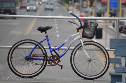 A little piece of character from the local area right here - everyone seems to ride their bikes in Ocean City