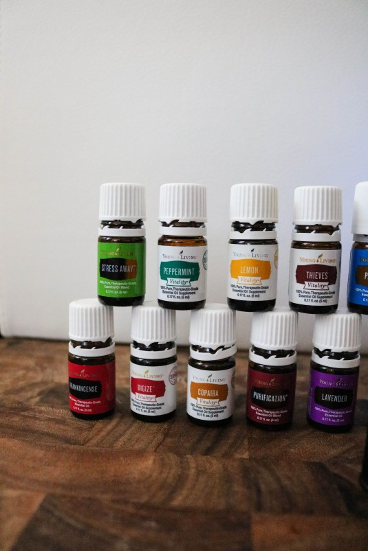Essential Oils Introduction Young Living Starter Kit