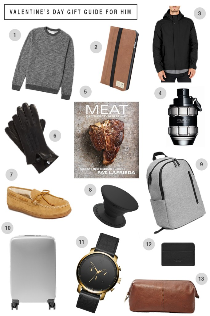 Valentine's Day gift guide for him // Ashley Terkeurst Hodges // men's gift ideas // birmingham blogger
