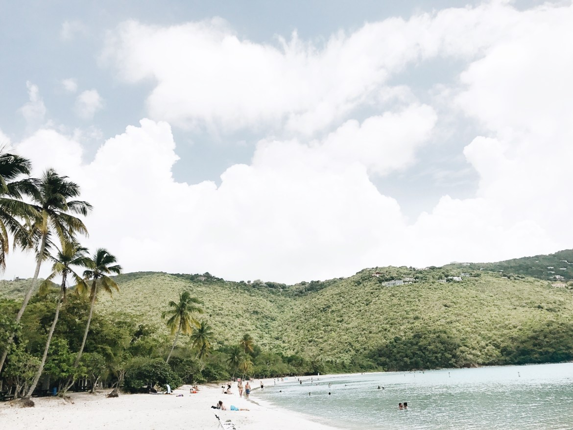 Magens Bay in St. Thomas // travel // beach // St Thomas - Oasis of the Seas Review featured by popular Los Angeles travel blogger, Ashley Hodges