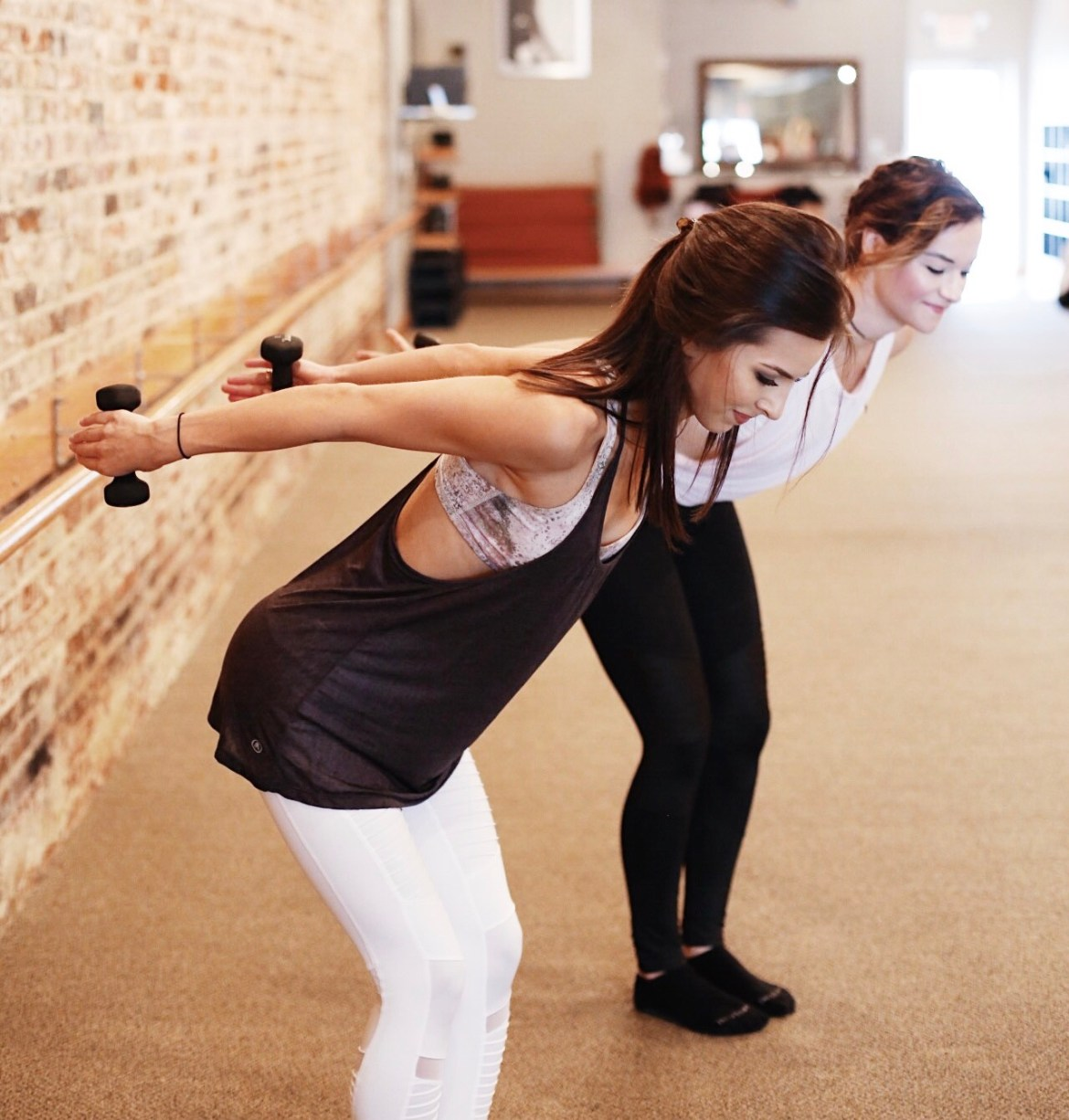 Pure Barre Class featured by popular Los Angeles lifestyle blogger, Ashley Hodges