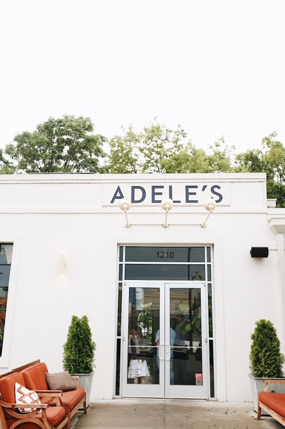 Adele's - THE ULTIMATE NASHVILLE CITY GUIDE featured by popular Los Angeles travel blogger, Ashley Hodges