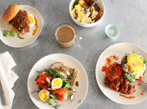 New York City Guide by Ashley Hodges of Ashley Terk // NYC foodie // new york // egg shop - New York City Guide, Where to Stay, Eat and Visit featured by popular Los Angeles travel blogger, Ashley Hodges