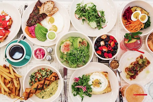 New York City Guide by Ashley Hodges // Ashley terk // jack's wife freda // NYC food // best lunch spots in NYC