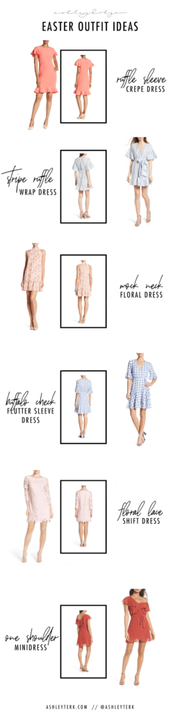 Easter Outfit ideas by Ashley hodges creator of AshleyTerk // What to wear for Easter // Easter dresses // Spring Dresses