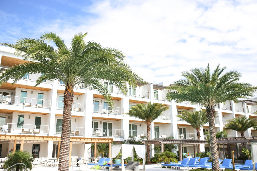 The Pointe on 30A Review featured by popular California travel blogger, Ashley Hodges