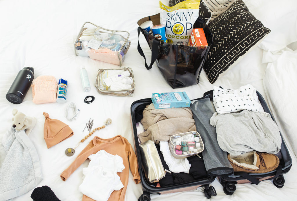 Hospital Bag Must Haves featured by popular Los Angeles life and style blogger, Ashley Hodges