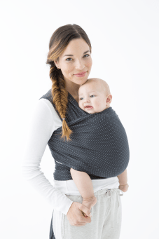 Baby Registry Essentials featured by popular Los Angeles life and style blogger and new mom, Ashley Terk: Solly baby wrap