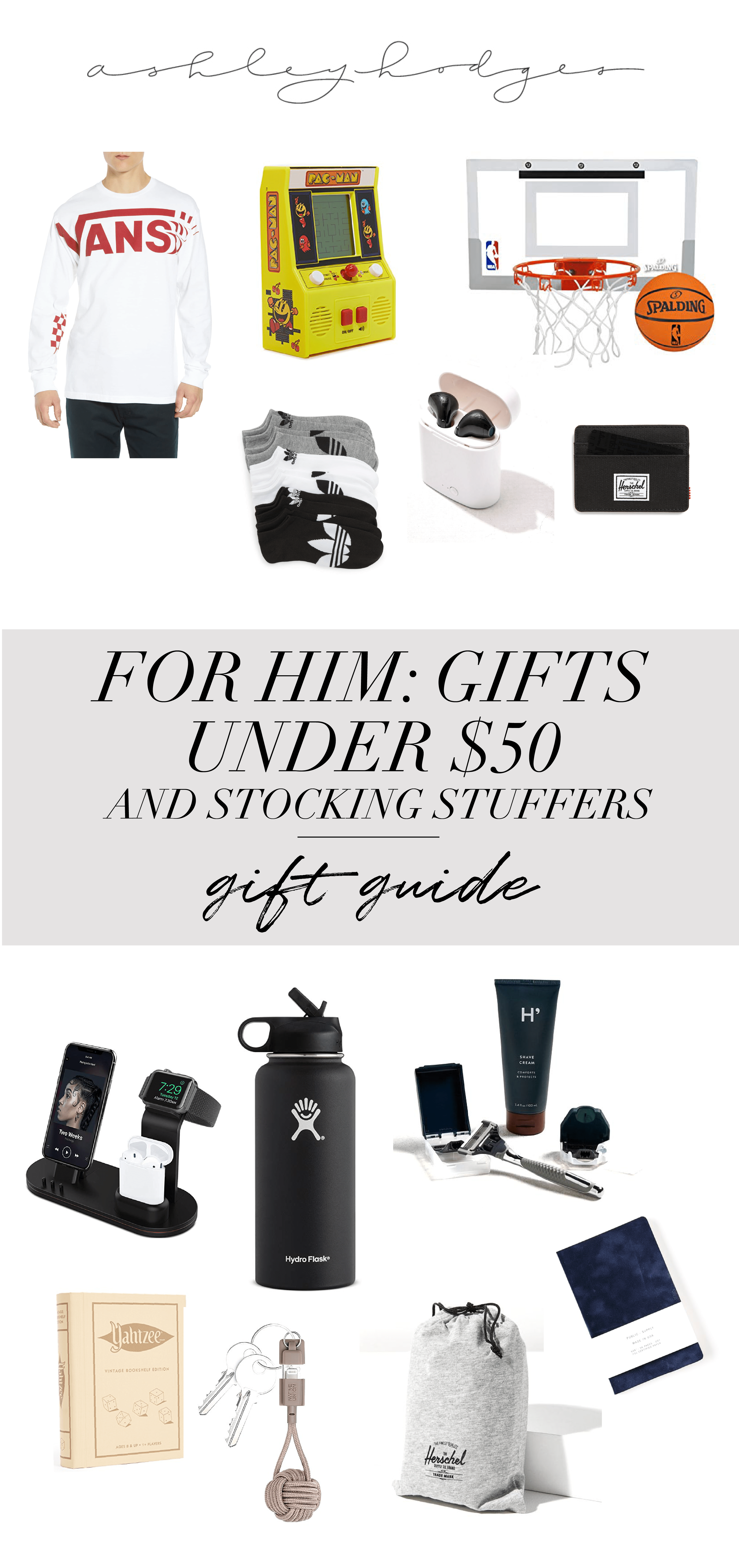 Holiday gift guide best stocking stuffers him