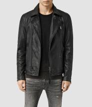 Allsaints - Leather Biker Jacket