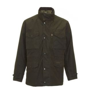 Barbour Lifestyle Olive Sapper Waxed Jacket