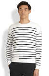Vince Striped Terry Sweater, $210