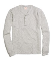 Brooks Brothers Long-Sleeve Henley Shirt