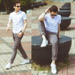 Style Image - White Sneakers 17