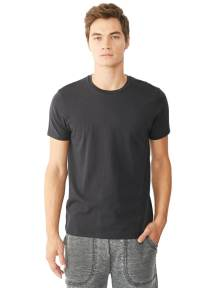 Alternative Apparel Black Plain T-Shirt