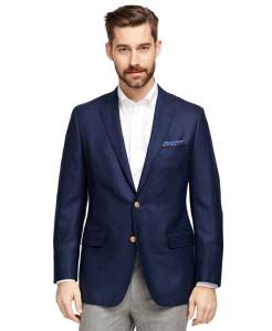Brooks Brothers Fitzgerald Fit Two-Button Blazer
