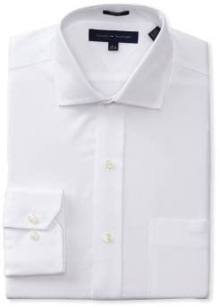 Tommy Hilfiger - Men's Slim-Fit Poplin Shirt