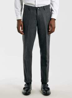 Topman - Selected Homme Grey Pants