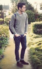 93a95351a69 The V-Neck Sweater - Men s Wardrobe Essentials