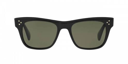 Oliver Peoples Jack Huston Sun in Black + G15 Polar Glass