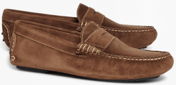 Brook's Brothers Suede Driving Mocs