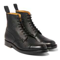 Grenson Pebble Grain Leather Boot