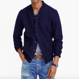 J. Crew Wallace & Brown Boiled Wool Bomber