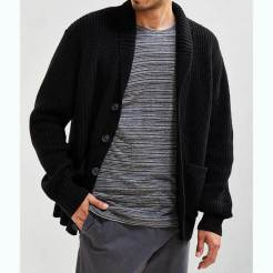 Urban Outfitters Shawl Black Cardigan