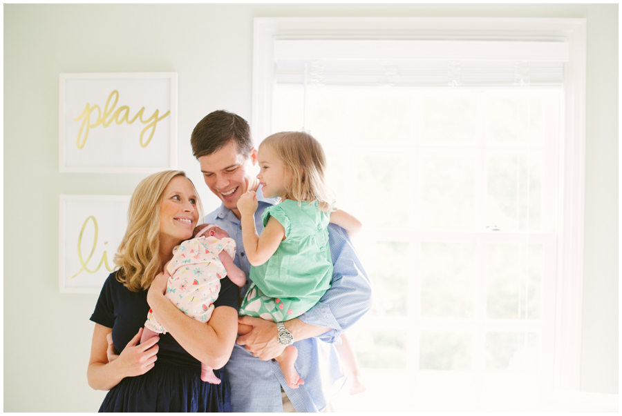 The S Family  In Home Lifestyle Newborn And Family