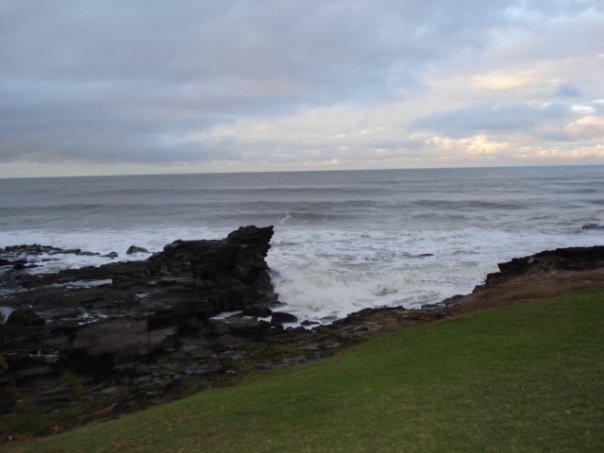 Off the coast of Mooloolaba