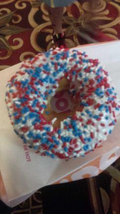 'american' donut
