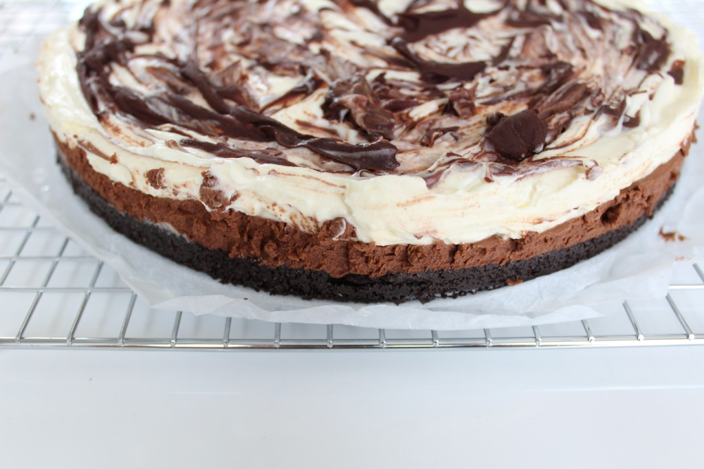 chocolade oreo cheesecake