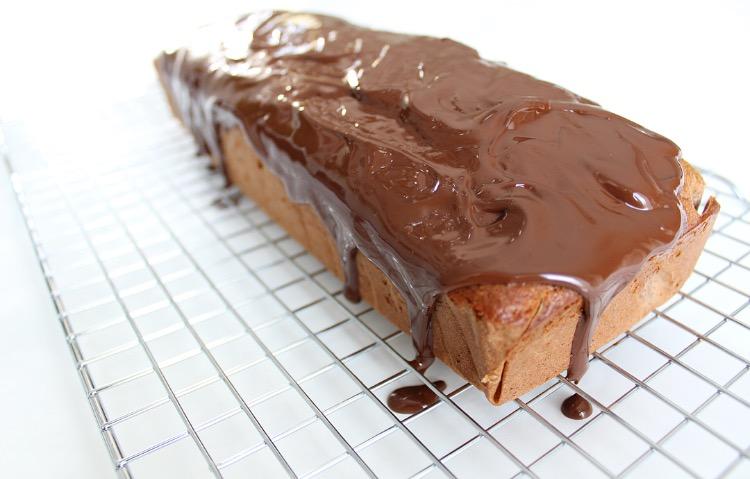 bananenbrood met pure chocolade