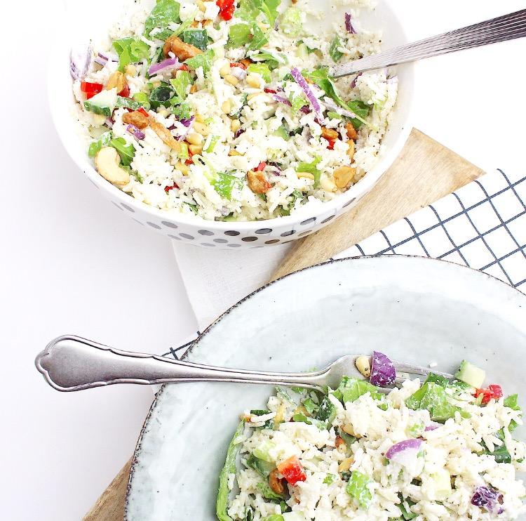 frisse rijstsalade
