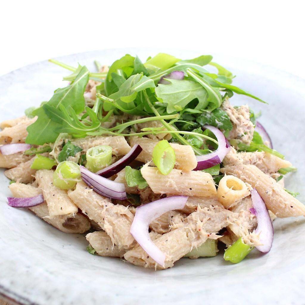 pastasalade met makreel