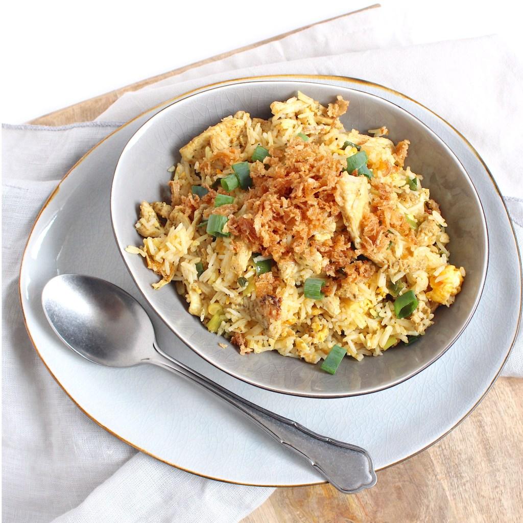 Kipshoarma nasi