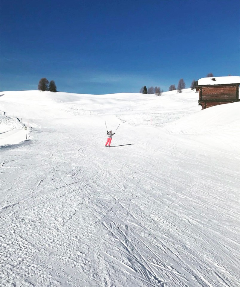 Wintersport in de Dolomieten