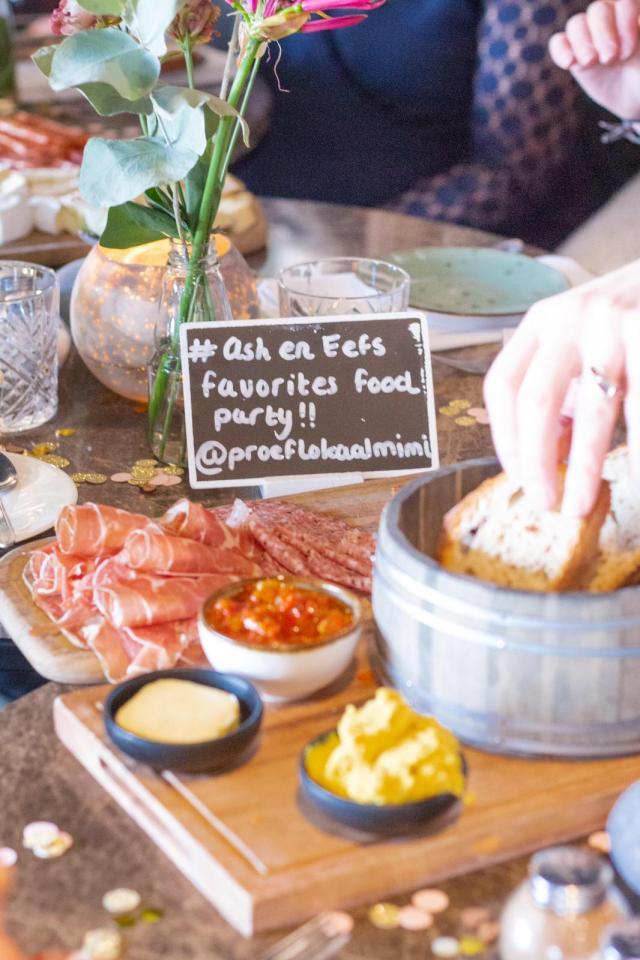 Hoe kwam het eigenlijk tot Ash & Eefs Favorites Foodparty