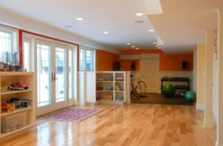 shared room home gym ideas