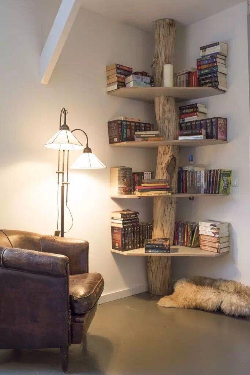 corner shelf ideas diy